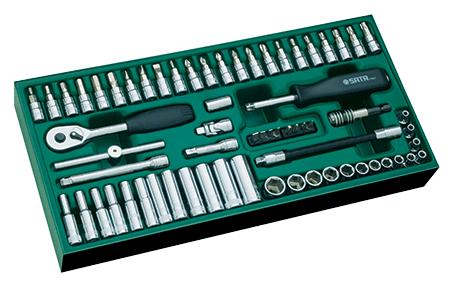 SATA 09901 zestaw 66 kluczy nasadowych na www.cooltools.pl