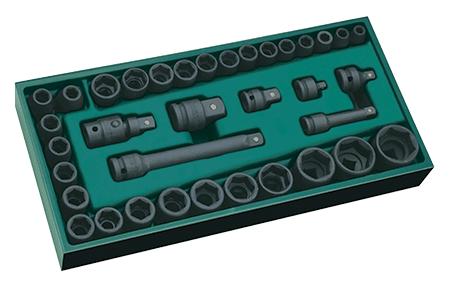 SATA 09914 zestaw 36 kluczy nasadowych udarowych na www.cooltools.pl