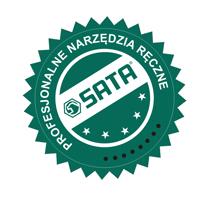 Profesjonalne narzędzie ręczne marki SATA z dożywotnią gwarancją producenta