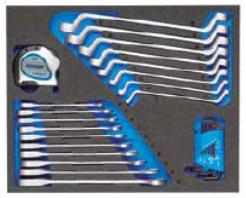 Moduł narzędziowy Gedore TS CT2-7R-2 w wózku narzędziowym Gedore WSL-L7 na cooltools.pl